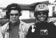 Silly bike helmets, teenagers