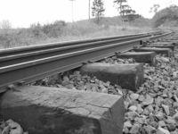 Rail and wood