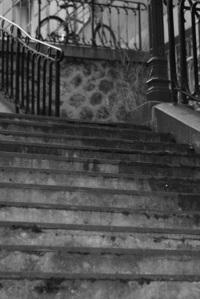 Stairs of Montmartre in Paris