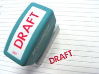 Draft Stamp 1