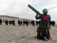 Manisfestation against missile 5