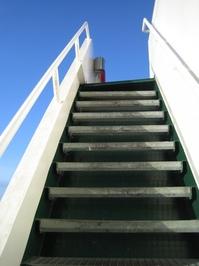 stairs - raising high