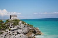 Tulum, an arqueological zone in Quintana Roo, Mexico