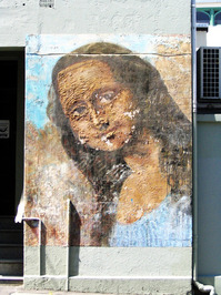 Street Mona Lisa