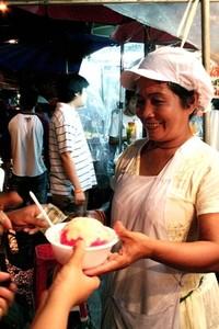 Ice-cream lady