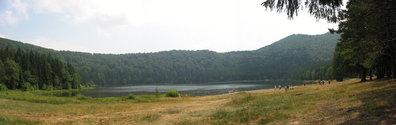 st. anna lake panorama
