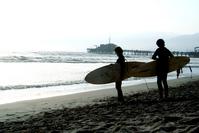 Santa Monica Surfers