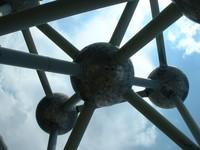 Atomium closeup