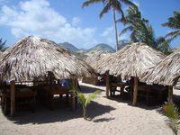 Caribbean huts