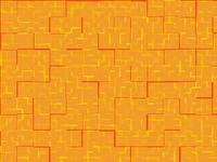 Abstract orange tiles stock photos