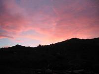 sunset silouet 1