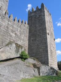 Castle of Guimaraes, Po