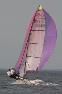 Dinghy sailing 1