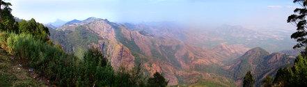 kodaikanal hills panoramic view
