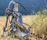 Ejection seat in field
