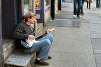 Streetside Guitarist