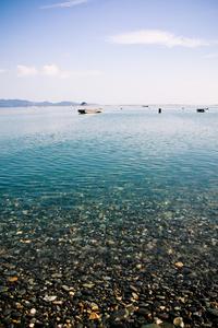 beach with gravel