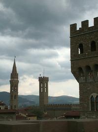 Florence from the Uffizi Museu