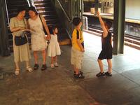 Dance,Family,Tourist,New,York,Subway,Tourists