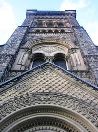 19th century gothic castle