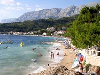 Beach in Podgora