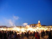 Maroc, place jemaa el fna