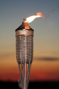 Tiki Lamp 2