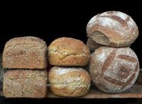 Bread in a shop window