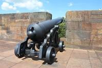 Carlisle Castle cannon