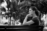 Stephanie on Bench