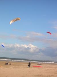 Kite buggying 3