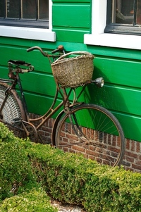 dutch bike in zaanstreek