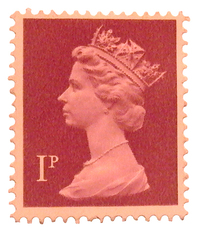 Queen on Stamp 2