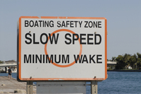 Slow Speed Sign