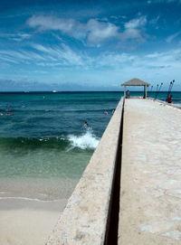 Pier in Waikiki