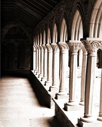 cloister abbey on iona