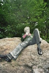Sculpture of Oscar Wilde