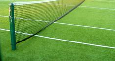 evening summer tennis