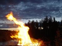 Midsummernights fire