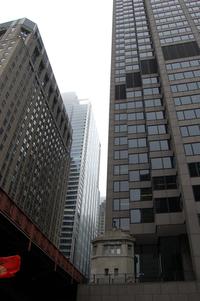 Chicago in Fog
