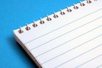 Spiral Bound Notebook 1
