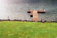 Dock on Lake Crescent