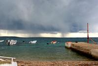 Storm in Cres