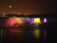 Niagara Falls at night 2