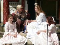 "H.C. Andersen ""Parade"" in Oden"