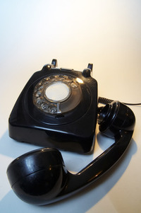 Old telephone 8