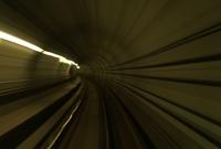Riding the subway