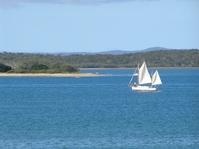Sailing on Hervey Bay