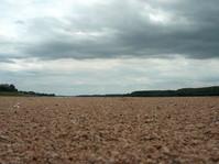 Bottom of the Loire River (Fra