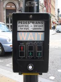 Pedestrian crossing box